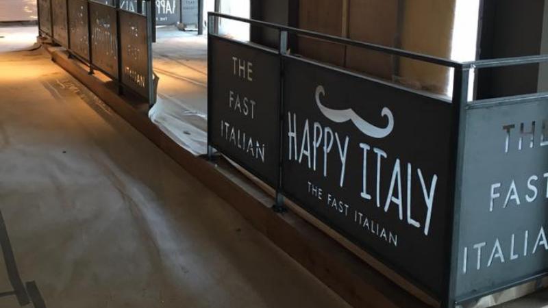 Happy Italy constructie gemaakt door Mikkers Special Constructions